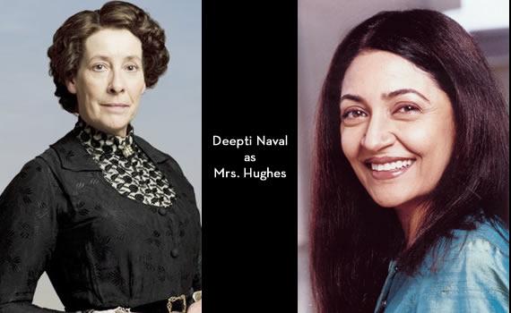 Downton Abbey India: Deepti Naval as Mrs Hughes