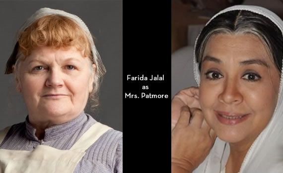 Downton Abbey India: Farida Jalal as Mrs Patmore