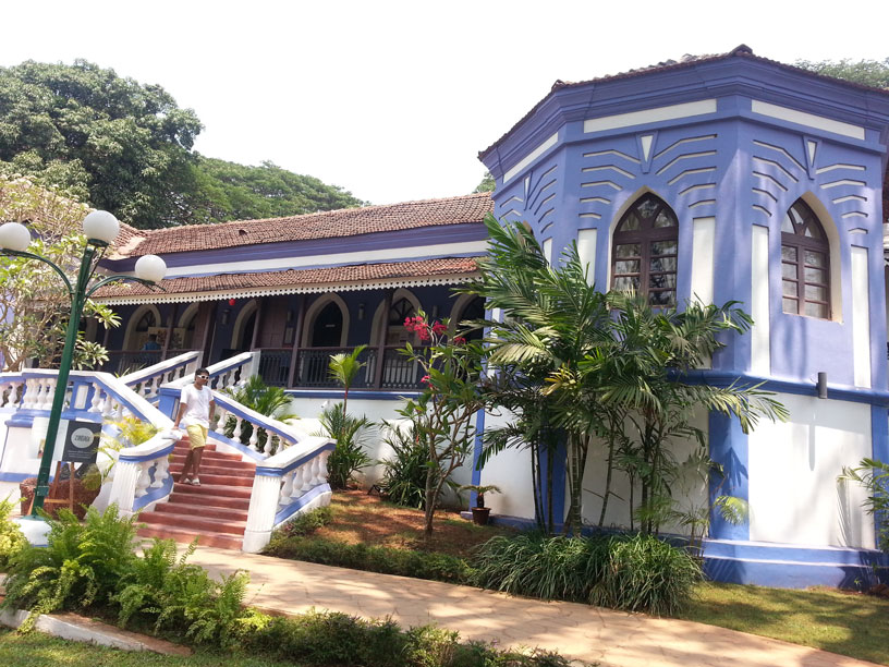 At Goa's Sunaparanta Centre for the Arts