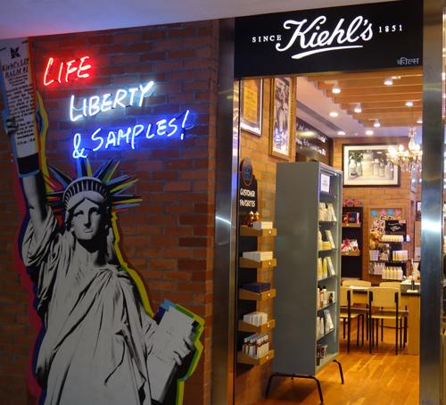 In store beauty experiences - Kiehl's