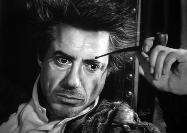 Iconic Sherlock Holmes portrayal Robert Downey Jr