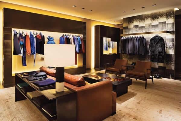 FENDI New Bond Street Boutique London Men Floor