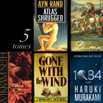 5 big monsoon reads: Murakami, Vekiram Seth, Ayn Rand, Gone With The Wind, Dumas