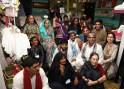 Anju Modi with Artisans in Gujarat - 1