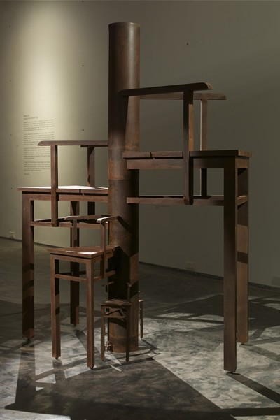 Mansoor Ali, Anatomy of a Chair, Monument to an Unknown Politician, 2014