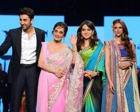 Ranbir Kapoor, Sadhana, Shaina NC, Aditi Rao Hydari