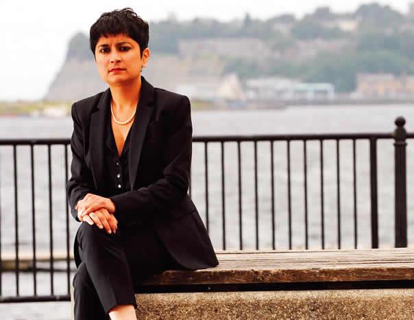 Shami Chakrabarti, director of human rights organization Liberty, Verve's Power Women International list 2014