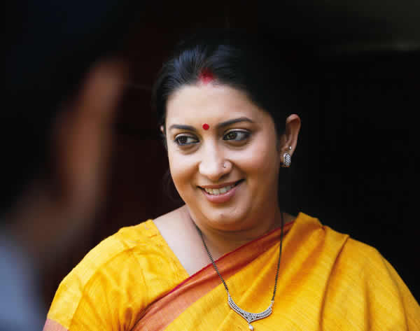 Power Speaker, Television Actor, BJP candidate - Smriti Irani - Verve's Power List 2014