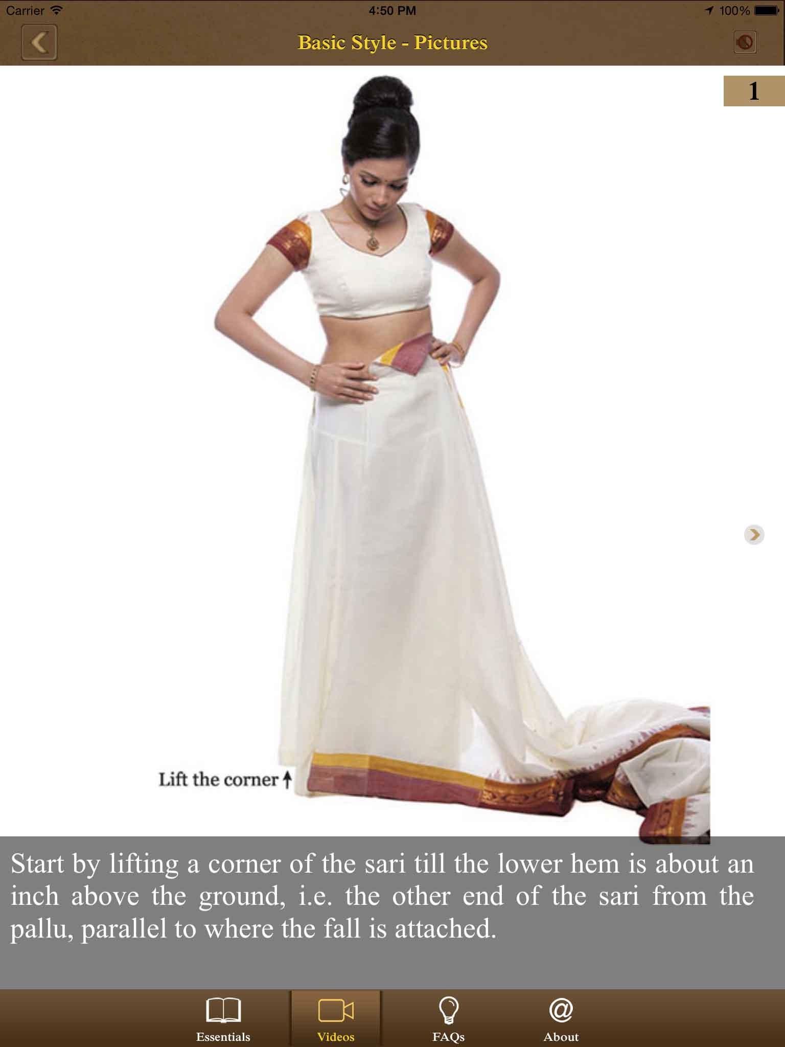 Kalpana Shah, Learn Sari, Technology, App