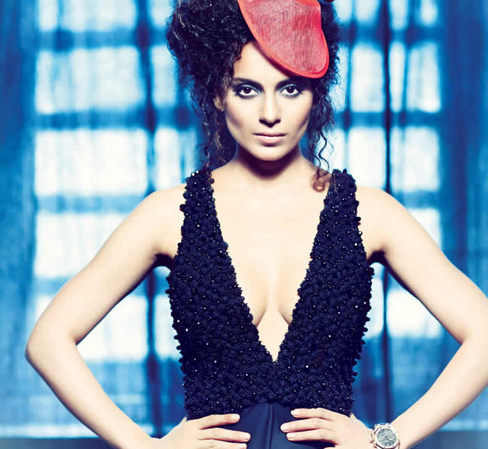 Kangana Ranaut Verve Power cover 2014