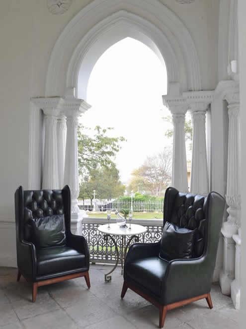 The Grand Trunk Show, Taj Khazana: Wing chairs in fine leather