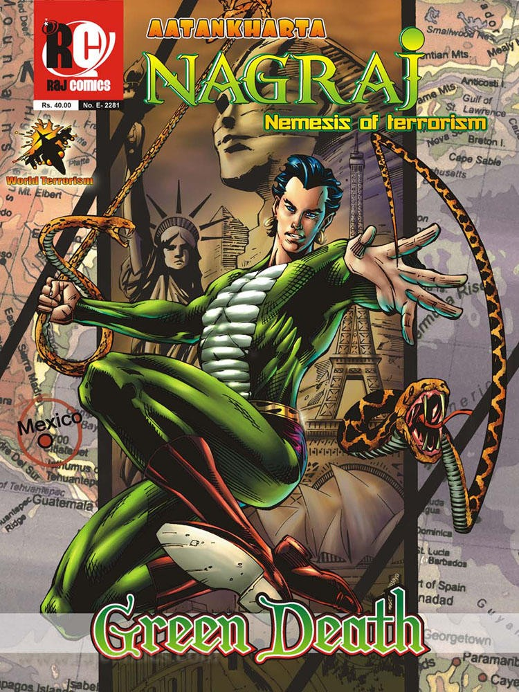 Nagraj, Comicandour, Comic book, Raj Comics