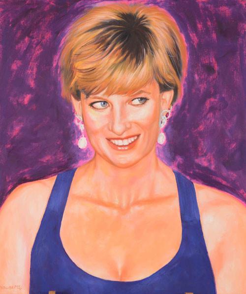 Nawaz Modi Singhania, Lady Diana