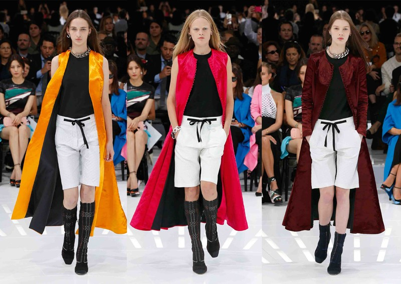 Dior Spring Summer 2015 Ready to wear Louvre Museum Paris Runway