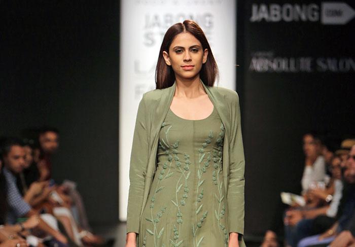 Prathoni Yengkhom and Jacky Laishram, Lakme Fashion Week 2014