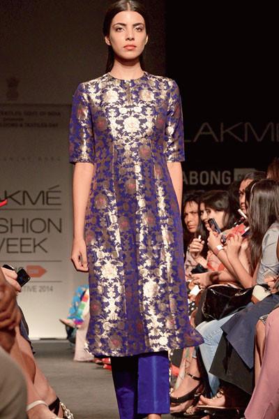 Sanjay Garg, Lakme Fashion Week 2014