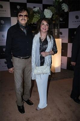 Sanjay and Zarine Khan