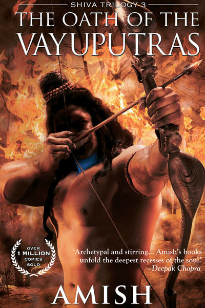 The Oath of the Vayuputras, Amish Tripathi