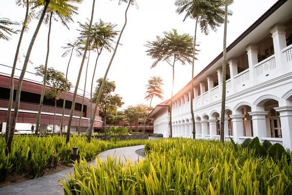 Capella SIngapore_Courtyard