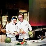 Chef NG Siew Choy and Chef Davide Rebeccato