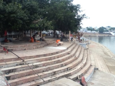One of the many ghats