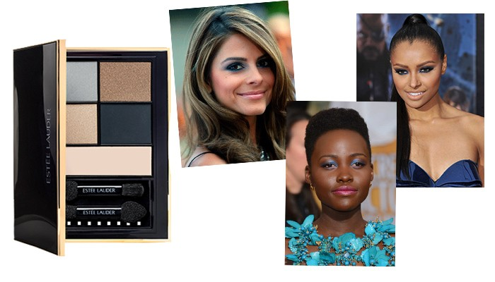Infamous Sky estee lauder pure color envy eye shadow color palette caelebrity eyes make up kat graham lupita nyongo