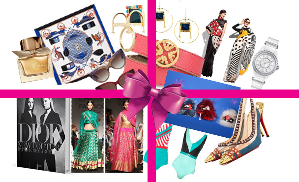 Gifts for the fashion addict fashionista dior giorgio armani shivan and narresh bottega veneta sanjay garg monopop by masaba gupta for satya paul fendi bag charms bugs mrinalini chandra hermes christain louboutin chanel burberry fragrance