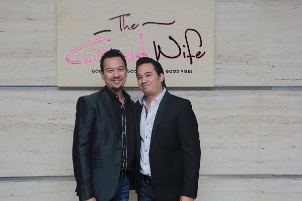 Ryan Tham, Keenan Tham at the launch of The Good Wife