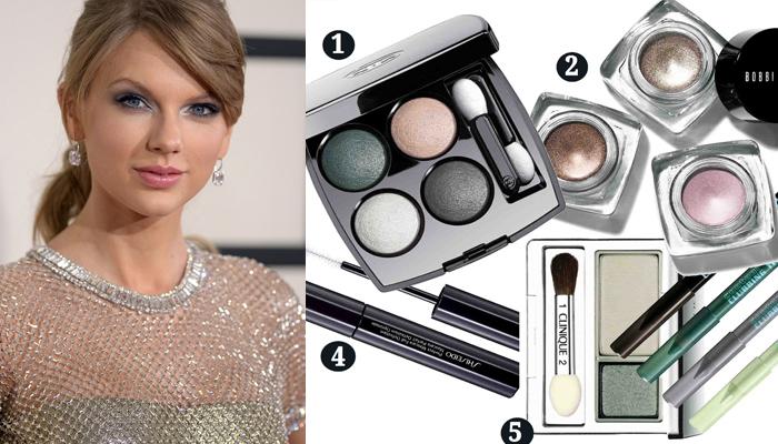 Metallic eye make up featured