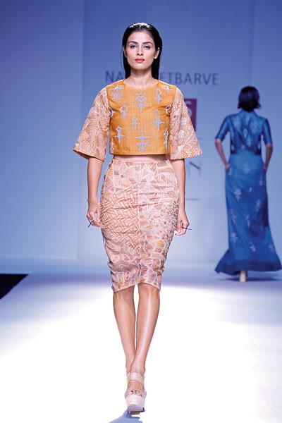 Nachiket Barve, Wills Lifestyle India Fashion Week Spring/Summer 2015