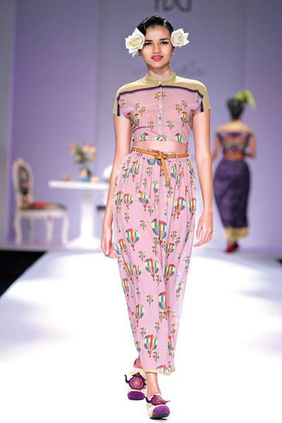 Nida Mahmood, Wills Lifestyle India Fashion Week Spring/Summer 2015