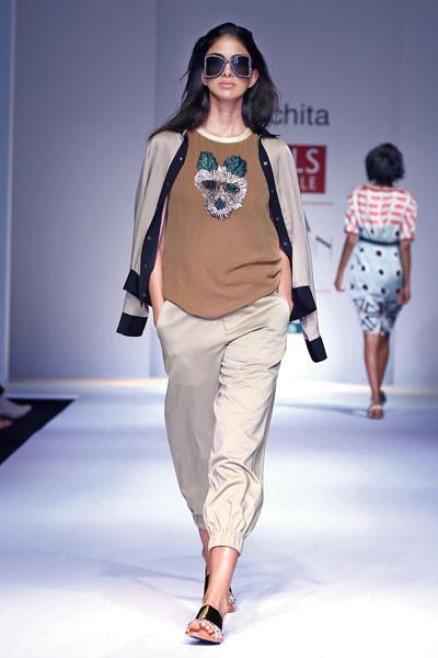 Sanchita, Wills Lifestyle India Fashion Week Spring/Summer 2015