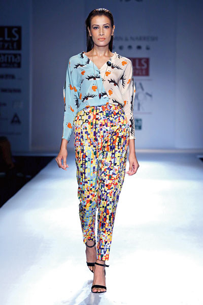 Shivan & Narresh, Wills Lifestyle India Fashion Week Spring/Summer 2015