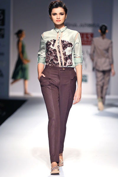 Sneha Arora, Wills Lifestyle India Fashion Week Spring/Summer 2015