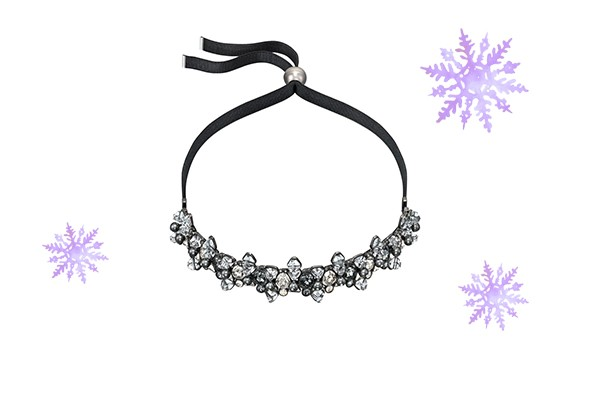 Swarovski Blacklight Choker