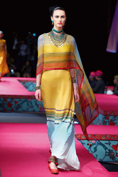 Tarun Tahiliani, Wills Lifestyle India Fashion Week Spring/Summer 2015