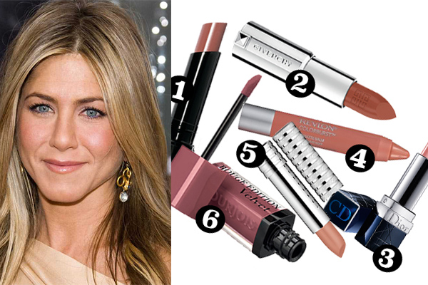 featured nude lips get the look jennifer aniston