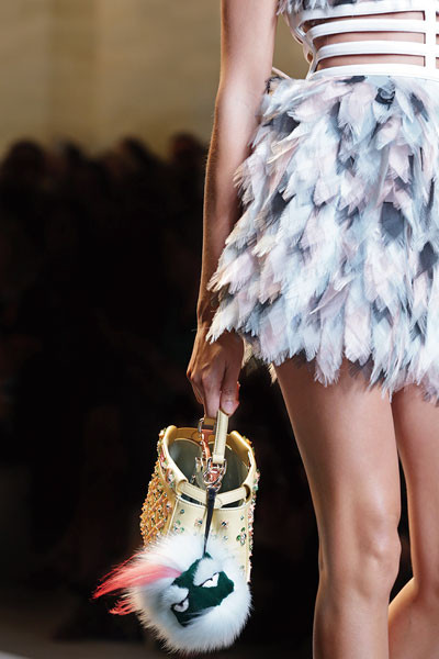 Fendi, Fendi's SS15 Women's show, FW 14-15 collection