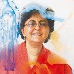 Nalini Malani, Artist, Retrospective You Can't Keep Acid in a Paper Bag