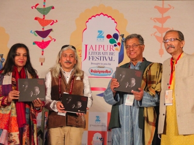 Shabana Azmi, Girish Karnad, Ravi Dubey & Sanjoy Roy discuss META's influence on Indian Theatre during the launch of Coffee table book 'Curtain Call Celebrating Indian Theatre' encapsulating ten glorious years of Mahindr