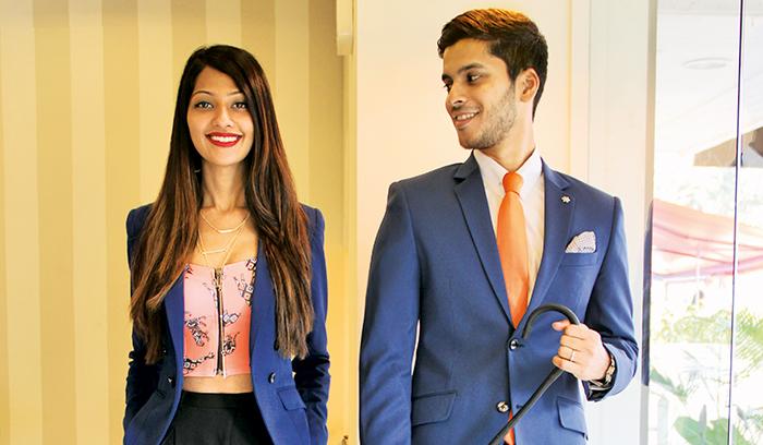 Sarah Sheikh and Sandeep Gonsalves, luxury brand, SS Homme