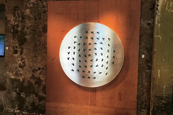 The Humans Since 1982 clock exhibit at the pop up Volte, Parmesh's Viewfinder, Parmesh Shahani