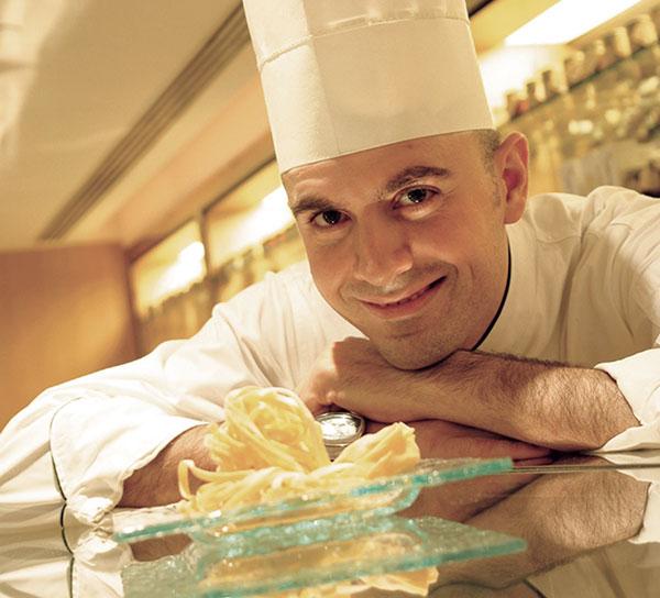 Chef Filippo Giunta, the new Italian chef at Travertino, The Oberoi, New Delhi