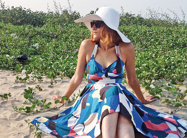 Drashta Sarvaiya, Designer, known for her sartorial style and fashion label, drashta