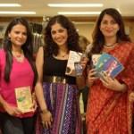 Kiran Manral, Meghna Pant, Madhuri Banerjee, Parul Sharma, Anjali Kirpalani at the Power Women Who Write Event in Mumbai
