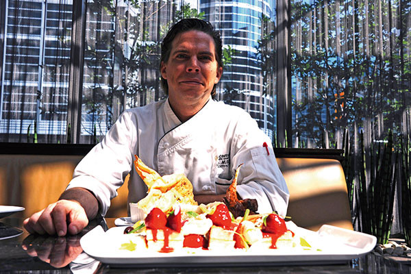Toronto, Travel, Food Trail, Chef John Mitchell of Intercontinental Toronto Centre