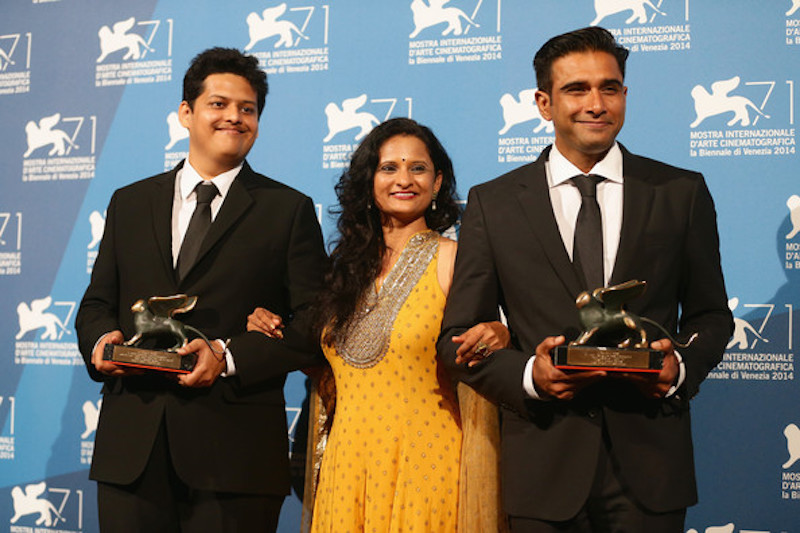 Chaitanya Tamhane, Geetanjali Kulkarni and Vivek Gomber