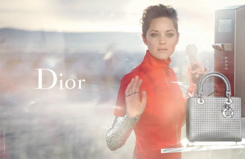 Dior ad campaign with Marion Cotillard