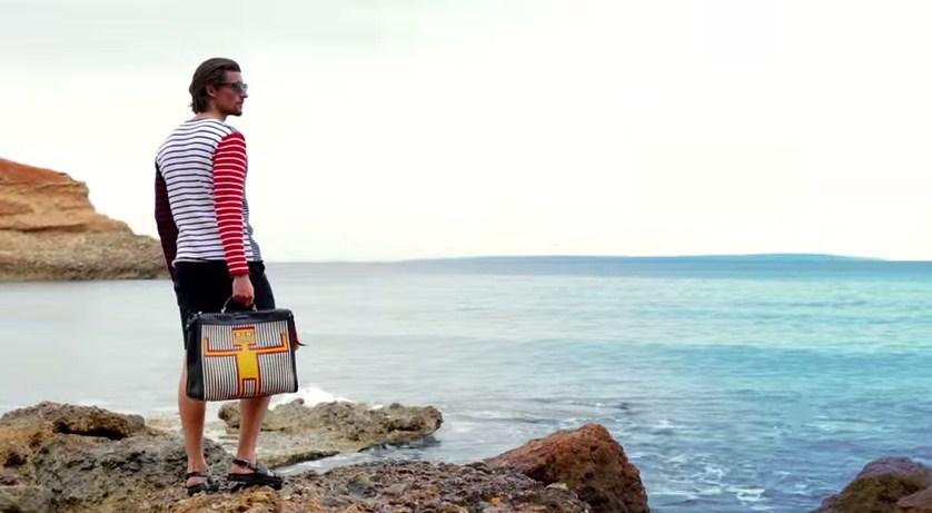 FENDI Men's SS15 menswear summer wardrobe what to wear beach