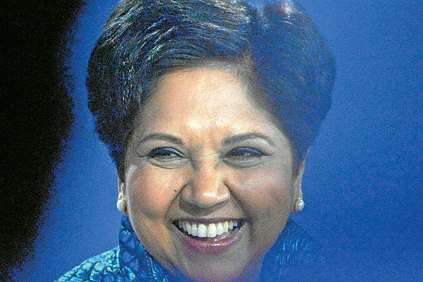 Indra Nooyi, Chairperson and Chief Executive Officer of PepsiCo